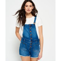 Superdry Dot Button Through Dungaree