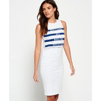 Superdry Mariner Stripe Midi Dress