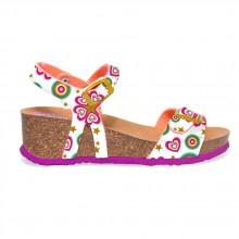 Desigual shoes Stripes Wedge Roller