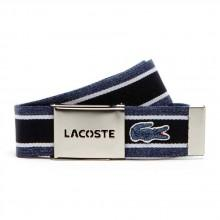 Lacoste Striped Strap And Perforated Buckle Gift