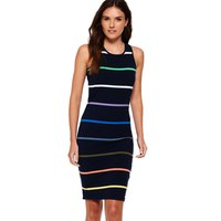 Superdry Core Midi Stripe Dress