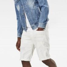 G-star 3301 Mr 1/2 Inza White Stretch Denim