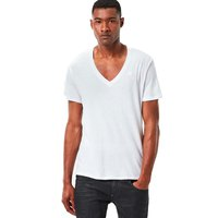 Gstar Base Heather Ribbed V Neck S/S 2-Pack NY Jersey