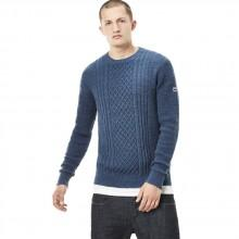 G-star Affni Cable R Knit L/S Slub Melange Cotton Knit