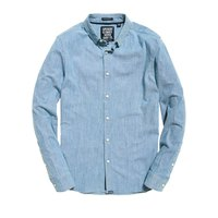 Superdry Tailored L/S Indigo Slim Shirt