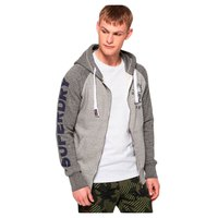 Superdry 028 Sporting Raglan Ziphood