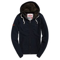 Superdry Applique Zip Thru Hood