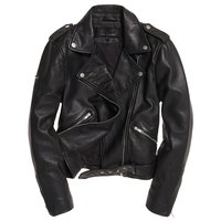 Superdry Nu Bella Leather Biker