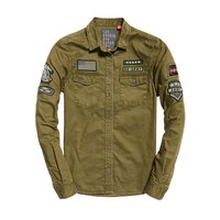 Superdry Rookie Patch Military Shirt