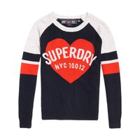Superdry Varsity Graphic Logo Knit