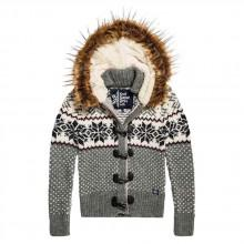 Superdry Chalet Snow Toggle Cardigan