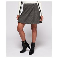 Superdry Josie Pleated Tweed
