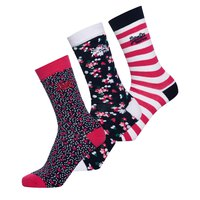 Superdry Floral Sock Triple Pack