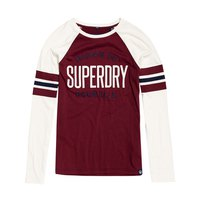 Superdry Applique Football Raglan Top