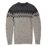Superdry Chevron Tweed Crew