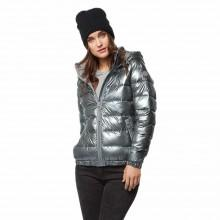 Bench Metallic Puffer