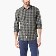 Dockers Laundered Poplin Shirt Slim Fit L/S