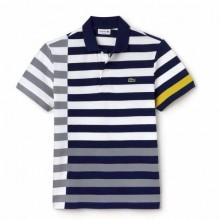 Lacoste Ribbed Collar