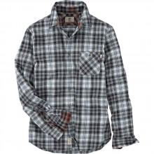 Timberland Back River Flannel Plaid Slim