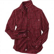 Timberland Black River Flannel Medium Gingham Garment Dye
