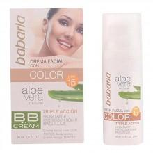 Babaria Aloe Facial Color Spf15 Cream 50 ml