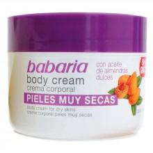 Babaria fragrances Very Dry Skin Body Cream With Sweet Almonds Oil 250ml