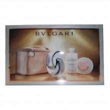 Bvlgari Omnia Crystalline Eau De Toilette 65 ml Vapo + Body Lotion 75 ml + Soap + Case