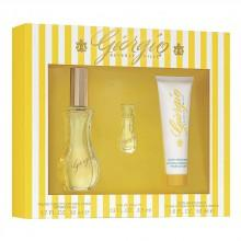 Consumo Giorgio Beverly Hills Yellow Eau De Toilette 50 ml Vapo + Perfumed Body Lotion 50 ml + Mini