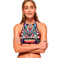 Superdry Neon Tribal Bikini Top