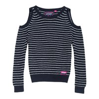 Superdry Ribbed Cold Shoulder Knit
