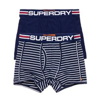 Superdry Tri Stripe Sport Boxer Double Pack
