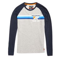 Superdry Surf Co Stripe Raglan