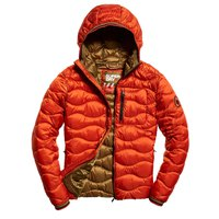 Superdry Wave Quilt Hooded
