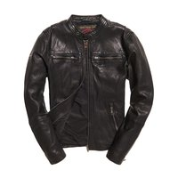 Superdry Real Hero Leather Biker