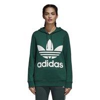 adidas originals Trefoil Hoodie Black buy and offers on Dressinn 7d156863dd