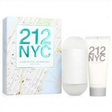 Carolina herrera 212 Eau De Toilette 100 ml Vapo + Perfumed Body Lotion 100 ml