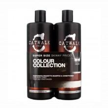 Tigi fragrances Catwalk Fashionista Brunette Shampoo 750ml + Conditioner 750ml