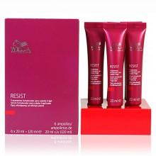 Wella fragrances Resist Cabello Fragil Tratamiento Serum 6 x 20ml