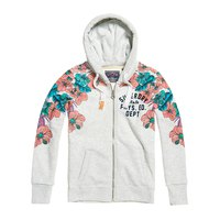 Superdry Tropical Floral Entry Ziphood