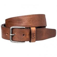 Lee Structured Belt Dark Cognac