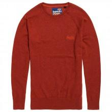 Superdry Orange Label Cotton Crew