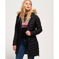 Superdry Chevron Faux Fur Super Fuji