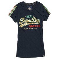 Superdry Vintage Logo Regal Slv Stripe Entry