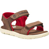 Timberland Nubble Leather And Fabric 2-Strap Youth