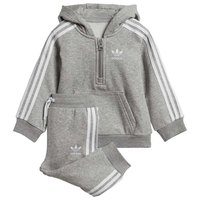 adidas originals Fleece Half Zip Hood Infant