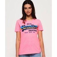Superdry Vintage Logo Retro Rainbow