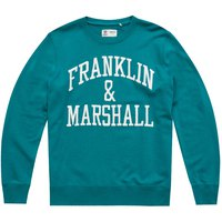 Franklin & Marshall Fleece Cotton Round Neck Long