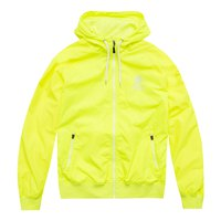 Franklin & Marshall Nylon Zip+Hood Long