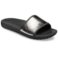 Crocs Sloane MetalText Slide