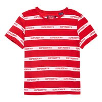 Superdry Cote Stripe Text